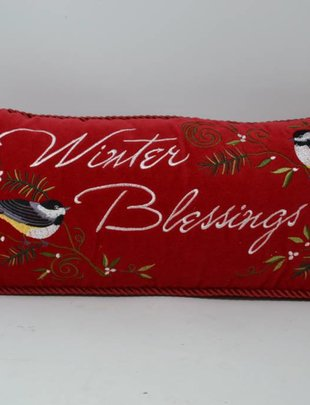 Winter Blessings Pillow
