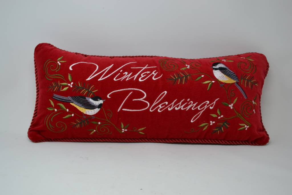 Winter Blessings Pillow