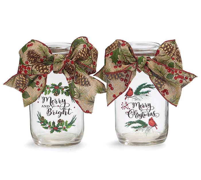 Decorative Christmas Jar