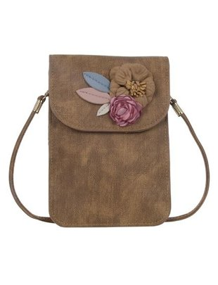 Floral Touchscreen Crossbody (4 Colors)