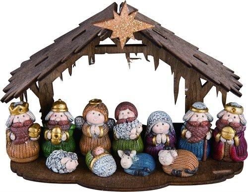 12 Piece Mini Nativity