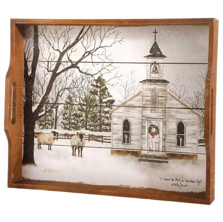 Vintage Church Tray