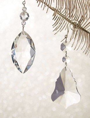 """5"""" Acrylic Prism Ornament (2 Styles)"""