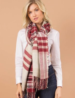 Reversible Wrap Scarf (3 Colors)