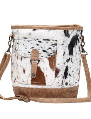 Multi Fur Shoulder Bag