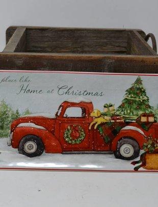 Vintage Truck Rectangular Plate