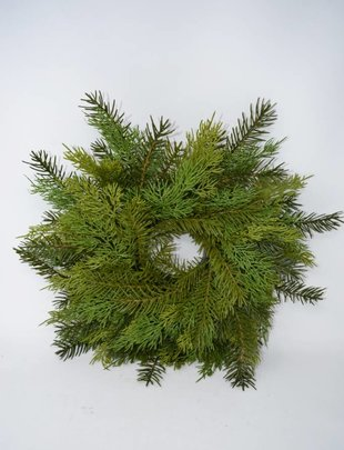 Soft Touch Cedar Pine Wreath
