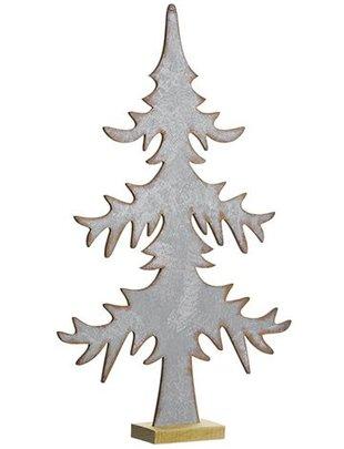 Rustic Silver Christmas Tree