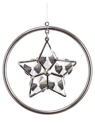 Rhinestone Star Ring Ornament