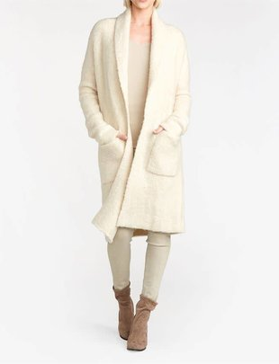 Boucle Sweater Duster