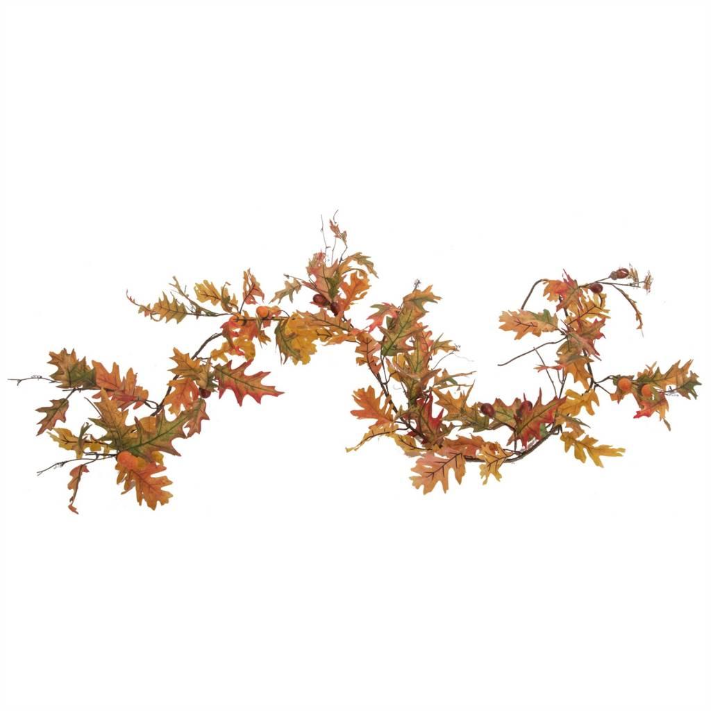 6-ft Oak Leaf Garland