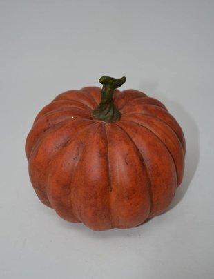 Small Orange Terracotta Pumpkin