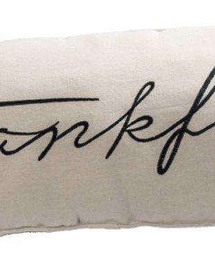 Linen Thankful Pillow