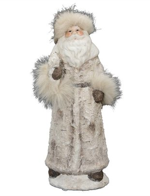 Birch Santa w/ Fur