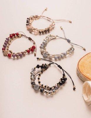 Razzle Dazzle Slider Bracelet (4 Colors)