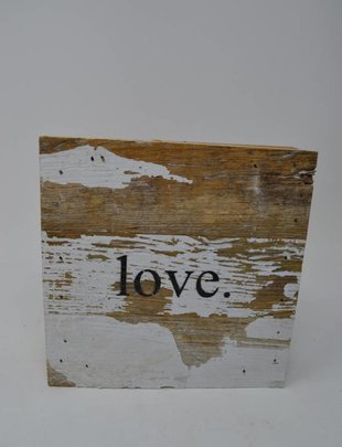 Love Reclaimed Pallet Sign