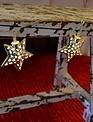 5.5-Ft. LED Star Garland