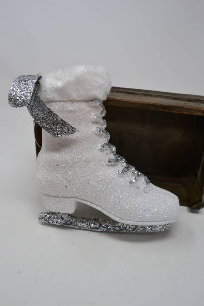 "7"" Glitter Ice Skate Ornament"