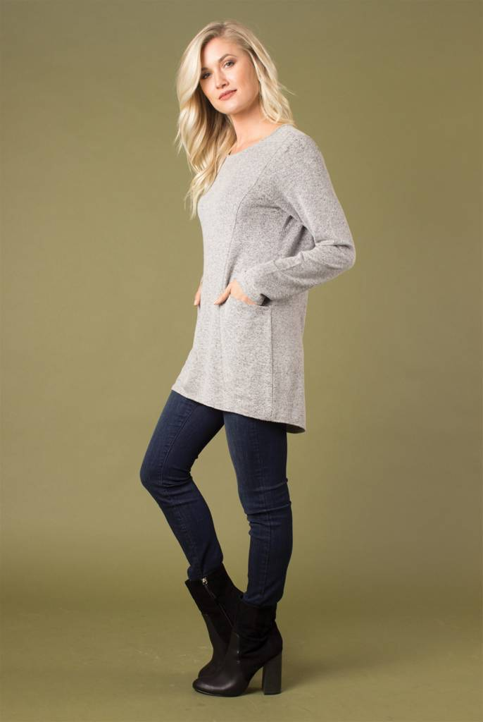 Double Pocket Tunic (3 Colors)