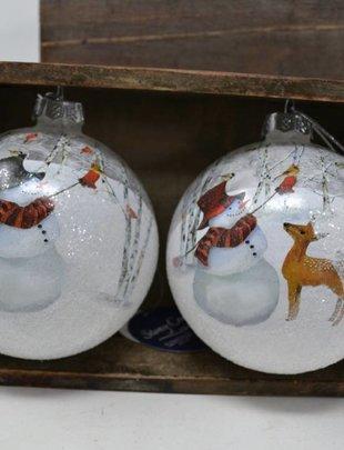 Lightable Snowman Ornament (2 Styles)