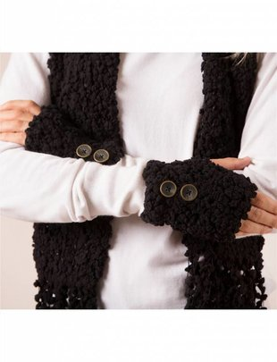 Shearling Wrist Warmers w/ Buttons (5 Colors)