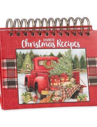 Christmas Easel Recipe Book