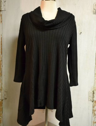 Cowl Neck Tunic (3 Colors)