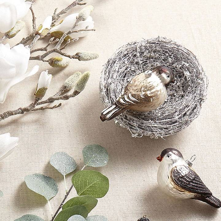 Clip on Shimmer Birds' Nest