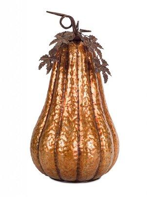 Metal Amber Pumpkin (2 Sizes)