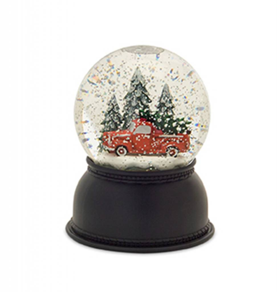 Lighted Truck Snow Globe
