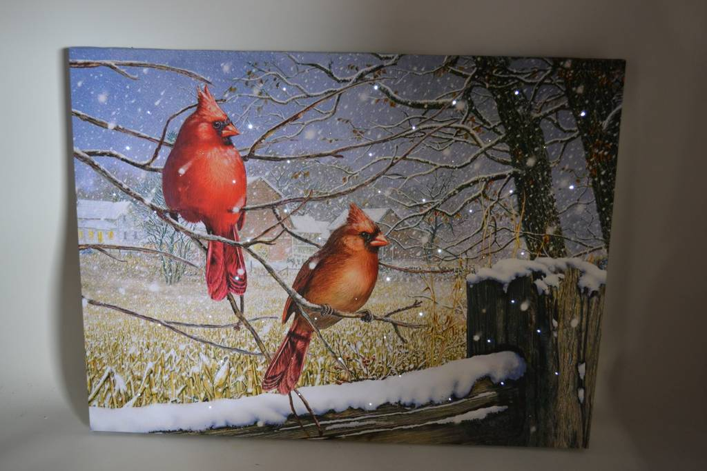 LED Large Cardinals Canvas (2 Styles)