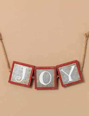 Joy Wall Hanging