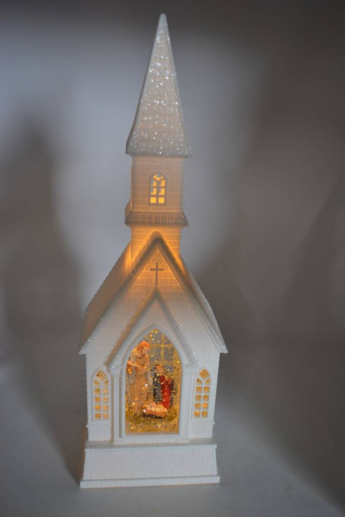 Musical Church Snow Globe (2 Styles)