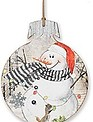 Snowman Ornament Wall Art (4 Styles)
