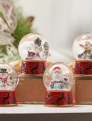 Christmas Mini Snow Globe (4 Styles)