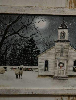 I Heard The Bells Christmas Day Print