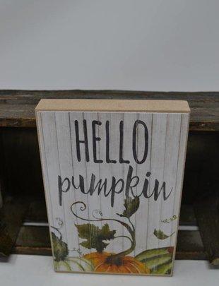 Fall Block Sign (3 Styles)