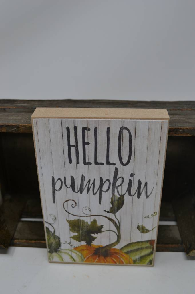 Fall Block Sign (3 Styles)