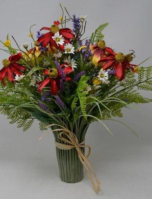 Custom Farmhouse Grass Vase
