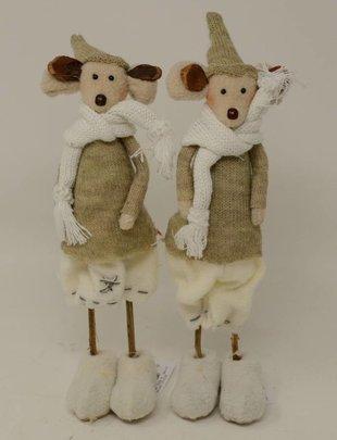 Mr & Mrs Mouse Set of 2
