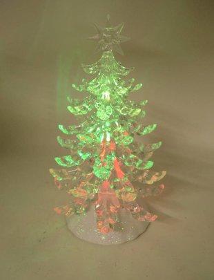 Small Acrylic Lighted Tree