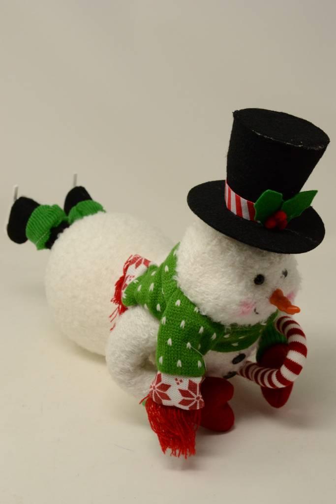 """14"""" Skating Snowman"""