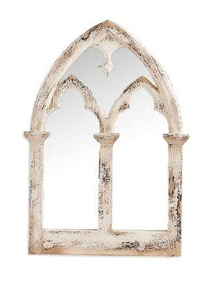 Distressed Cathedral Mirror