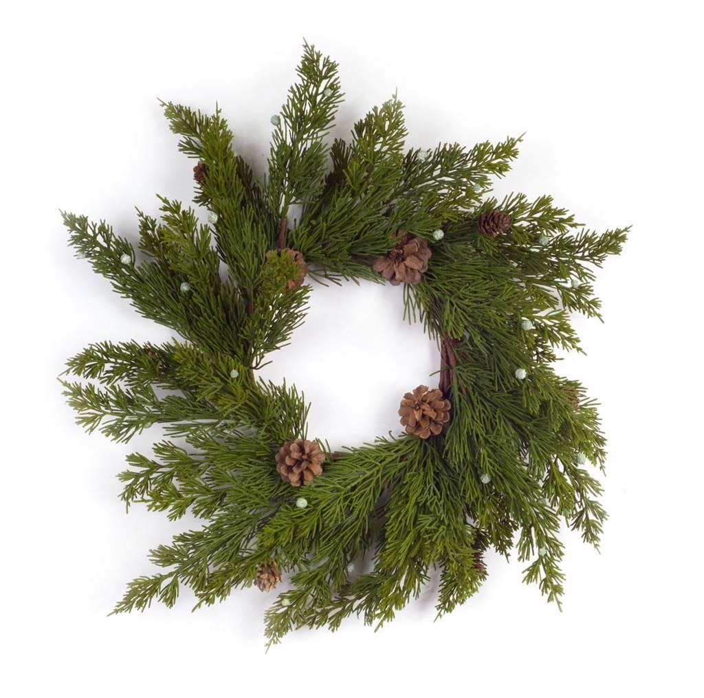Bountiful Pine Candle Ring