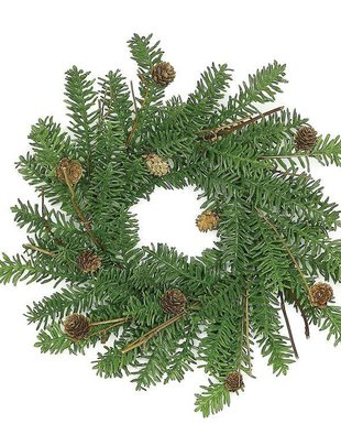Noble Fir Candle Ring