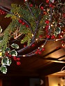 6-ft LED Red Berry Garland