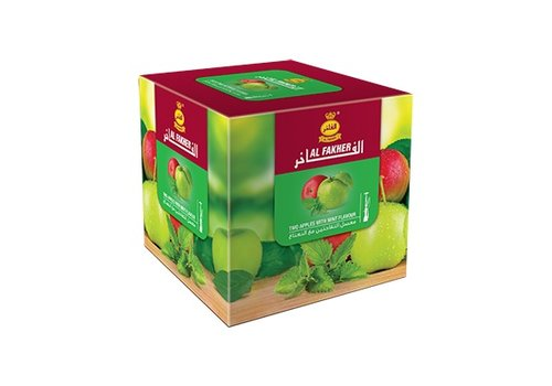Al Fakher Al fakher / 250g - Two apples w. mint