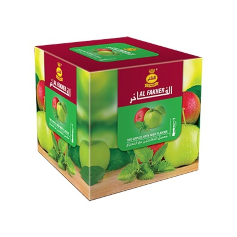 Al fakher / 250g - Two apples w. mint