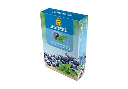 Al Fakher Al fakher / 50g - Blueberry w. mint