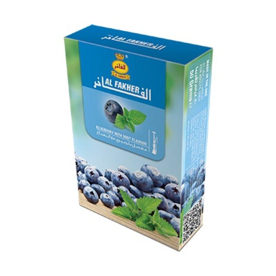 Al fakher / 50g - Blueberry w. mint